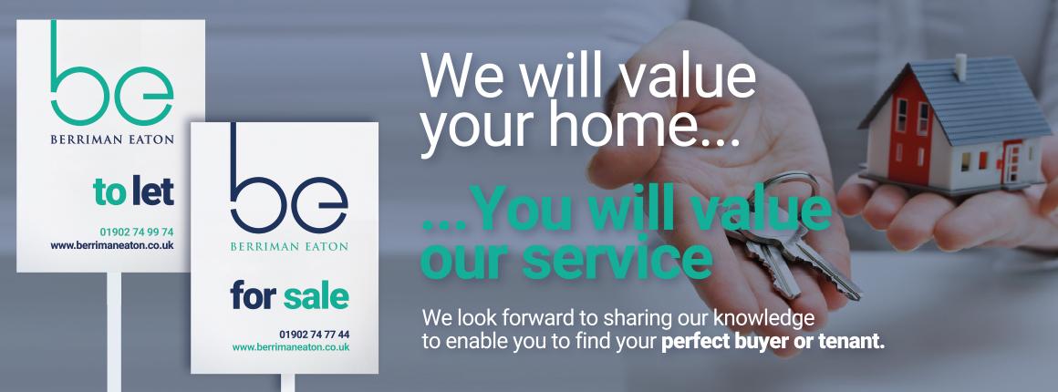 Berriman Eaton Estate Agents in Wolverhampton, Bridgnorth and Wombourne